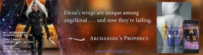 Archangel's Prophecy (Guild Hunter, #11) by Nalini Singh