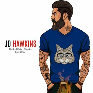 JD Hawkins Author Badge