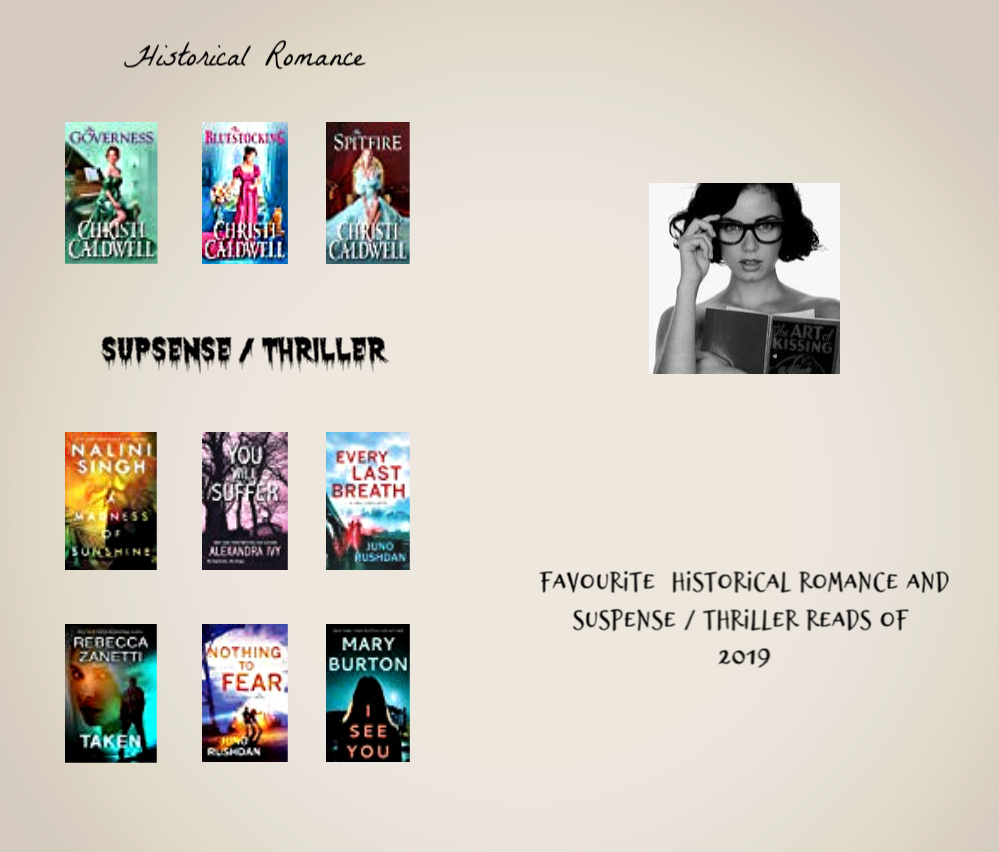 2019 favourite Historical-Suspense_Thriller Romance list banner