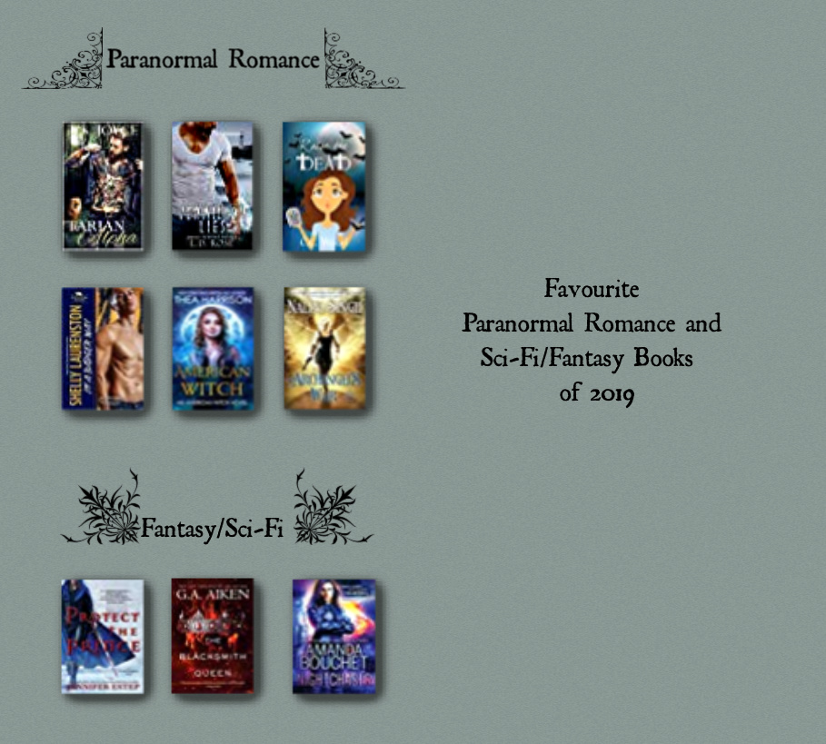 Paranormal Romance and Sci Fi Reads of 2019